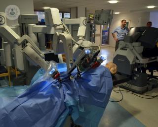 cirugía robótica de próstata savona italia